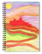 Red Castle Spiral Notebook