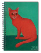 Red Cat Spiral Notebook