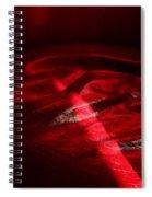 Red Chair  Spiral Notebook