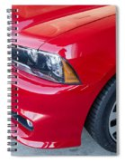 Red Charger 1508 Spiral Notebook