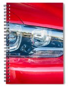 Red Charger 1521 Spiral Notebook