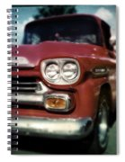 Red Chevy Pickup Spiral Notebook