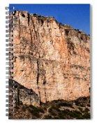 Red Cliffs Blue Sky Spiral Notebook