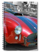 Red Cobra Spiral Notebook