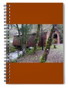 Red Covered Bridge  Spiral Notebook