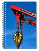Red Crane - Photography By William Patrick And Sharon Cummings Spiral Notebook
