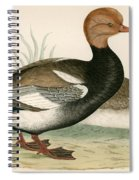 Red Crested Whistling Duck Spiral Notebook