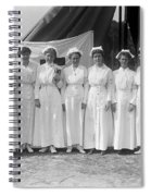 Red Cross Nurses, 1916 Spiral Notebook