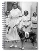 Red Cross Parade, 1920 Spiral Notebook