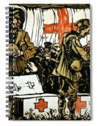 Red Cross Poster, 1915 Spiral Notebook