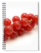Red Currant Spiral Notebook
