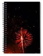 Red Dahlia Spiral Notebook