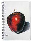 Red Delicious Apple Spiral Notebook