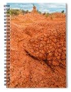 Red Desert Column Spiral Notebook
