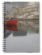Red Dinghy  Spiral Notebook