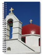 Red Dome Church 2 Spiral Notebook