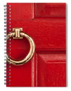 Red Door 01 Spiral Notebook