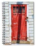 Red Door By Diana Sainz Spiral Notebook