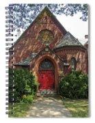 Red Door Church Spiral Notebook