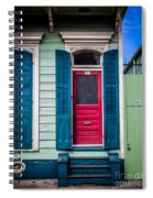 Red Doored House Spiral Notebook