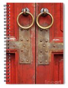 Red Doors 02 Spiral Notebook