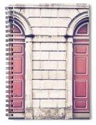 Red Doors Spiral Notebook