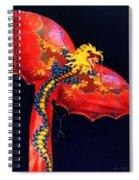 Red Dragon Kite Spiral Notebook