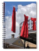 Red Dress Lineup  Spiral Notebook