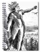 Red Eagle, William Weatherford, Creek Spiral Notebook