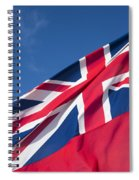 Red Ensign Spiral Notebook