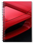 Red Enzo Spiral Notebook
