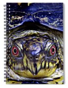 Red Eyed Turtle  Spiral Notebook