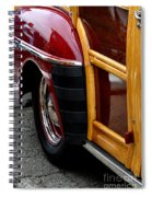 Red Fendered Woodie Spiral Notebook