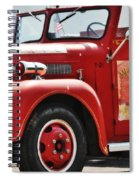Red Fire Truck Spiral Notebook