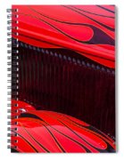 Red Flames Hot Rod Spiral Notebook