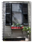 Red Flower Box St Augustine Spiral Notebook