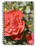 Red Flower IIi Spiral Notebook