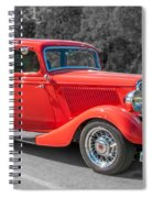 Red Ford 3d21740 Spiral Notebook