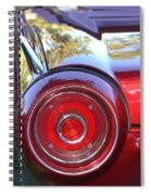 Red Ford Tailight Spiral Notebook