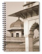 Red Fort Spiral Notebook