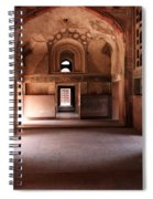 Red Fort Agra India Spiral Notebook