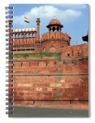 Red Fort New Delhi India Spiral Notebook