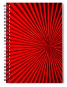 Red Glass Abstract 5 Spiral Notebook