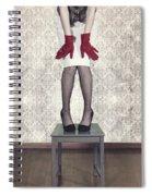 Red Gloves Spiral Notebook