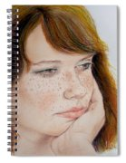 Red Hair And Freckled IIi Spiral Notebook