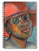 Red Hat Lady Spiral Notebook