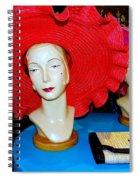 Red Hats Spiral Notebook