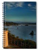 Red Head Light Spiral Notebook