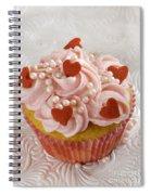 Valentine Cupcakes  Spiral Notebook