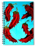 Red Hot Chili Peppers Spiral Notebook